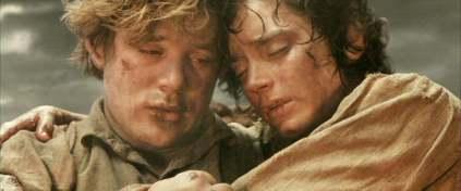 Sam and Frodo Mount Doom