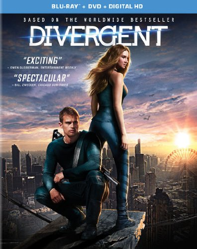 DivergentBluRayCover